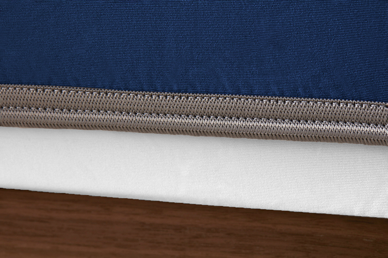 Sheex op elastic navy grey band web