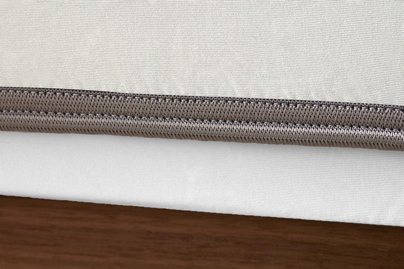 Sheex op elastic ecru grey bandweb