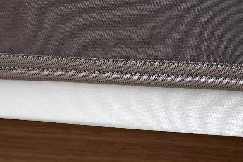 Sheex op elastic graphite grey bandweb
