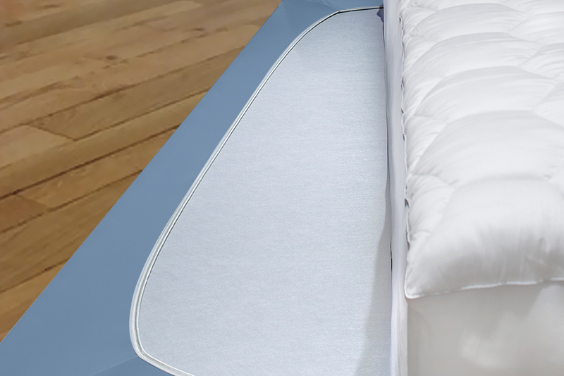 Box spring wrap resize