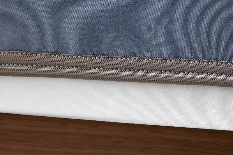 Sheex op elastic carolinablue grey bandweb