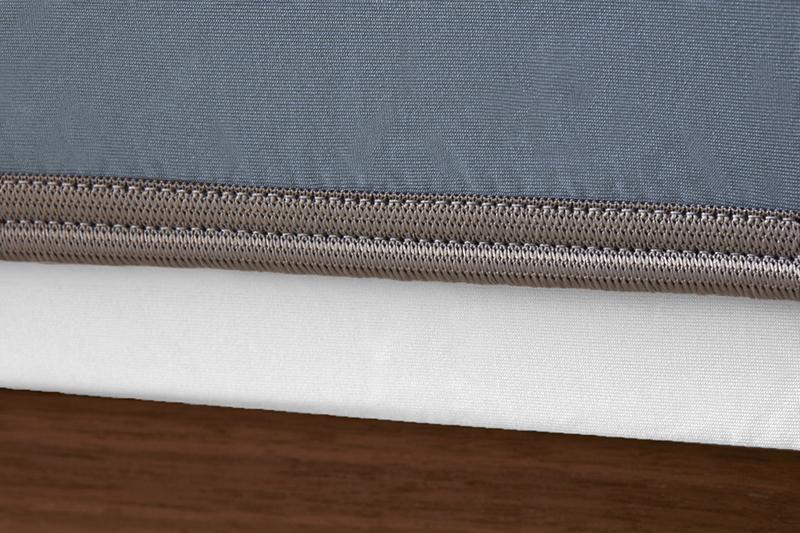 Sheex op elastic pearlbluegreybandweb
