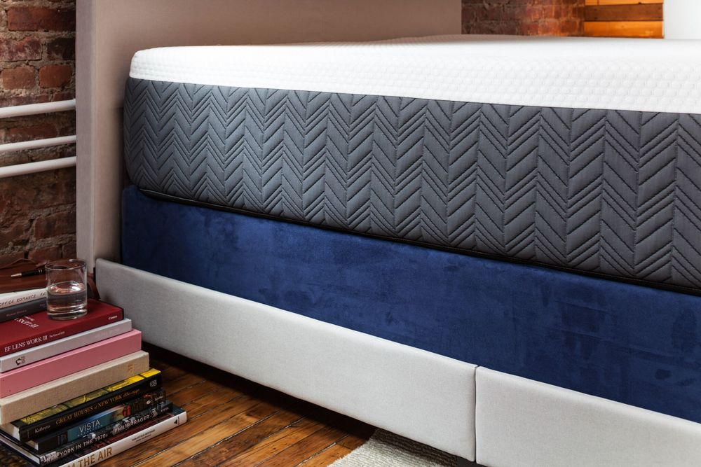 TECHNICAL SUEDE Box Spring Wrap