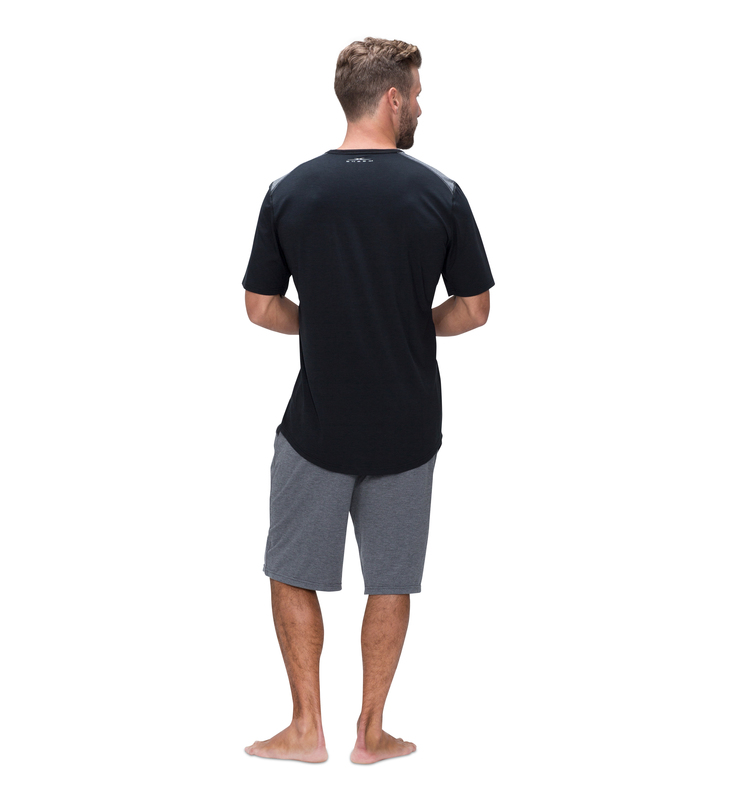 828 mens shortsleeve crew black back