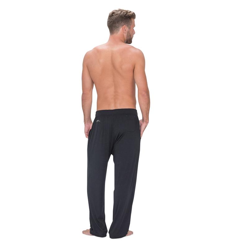 828 men pant black back