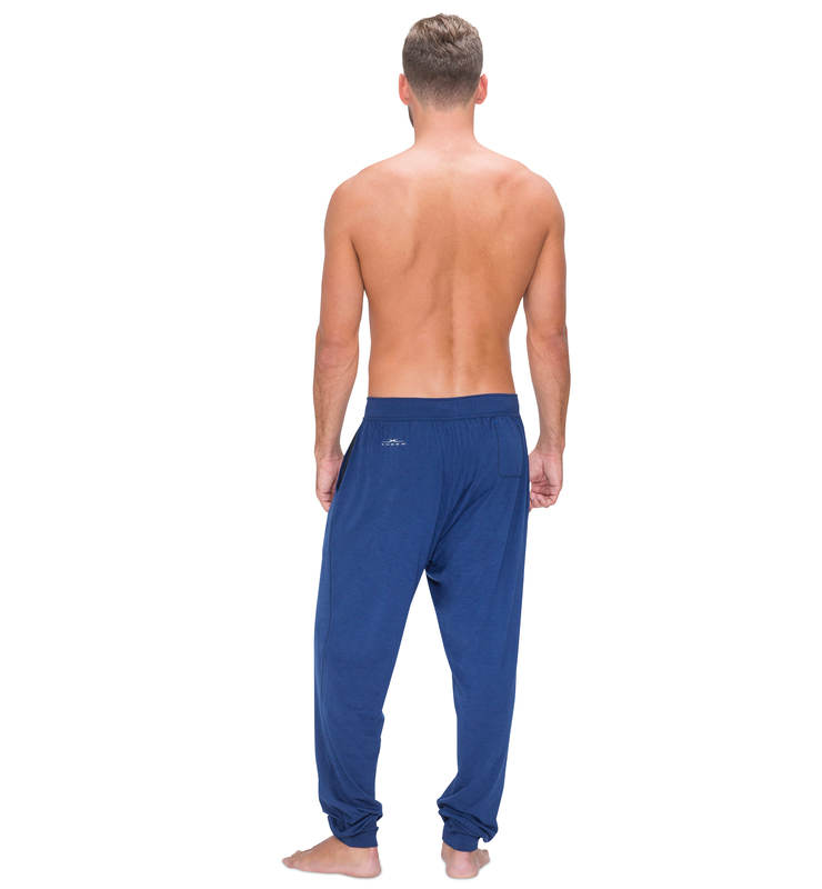828 men jogger cobaltblue back