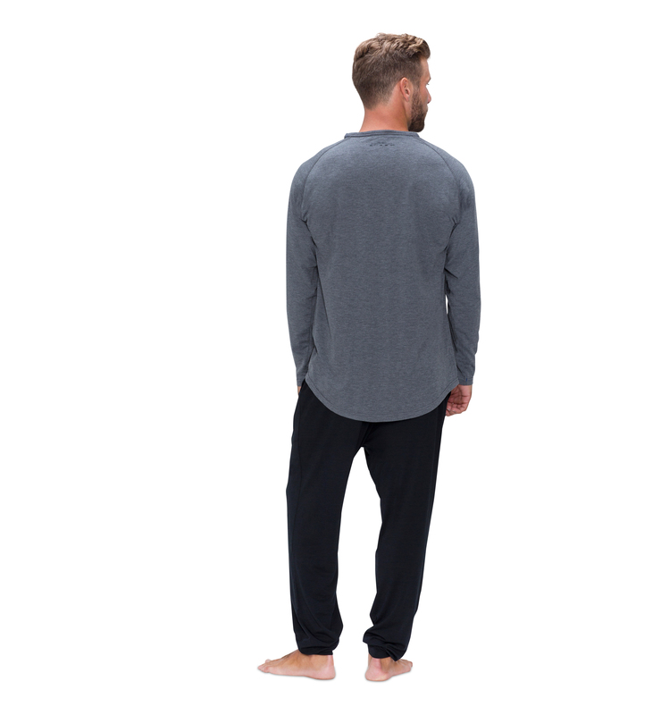 828 men longsleevecrew heathergrey back