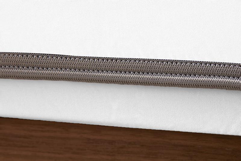 Sheex op elastic bright white grey bandweb