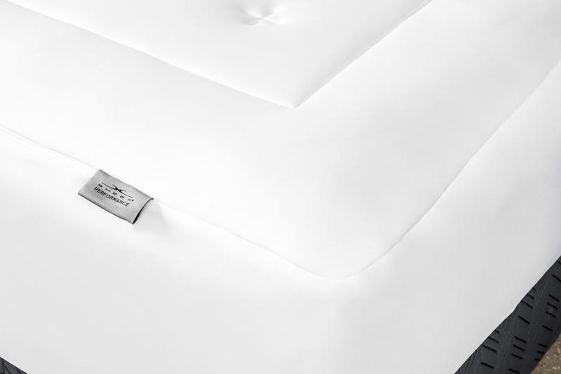 Original performance mattress pad bright white