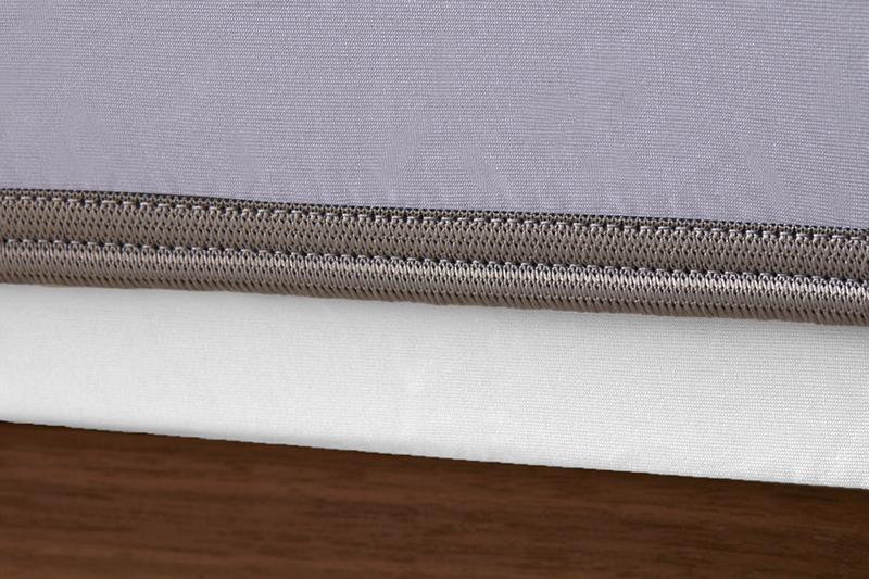 Sheex op elastic lavender grey bandweb