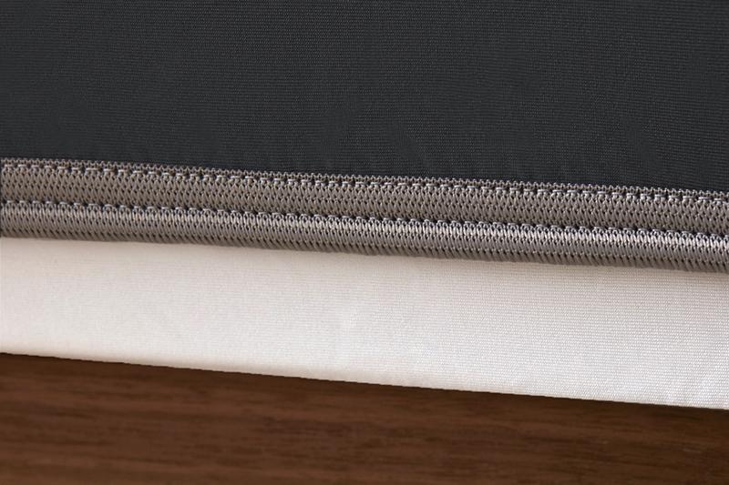 Sheex op elastic black grey bandweb