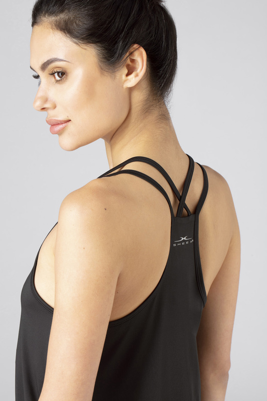 W cross back cami black v4 100021