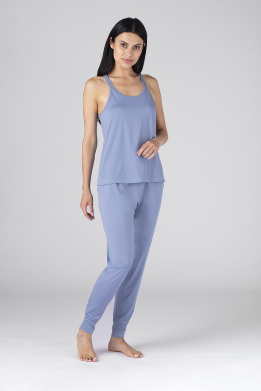 W cross back cami blue v2 100021