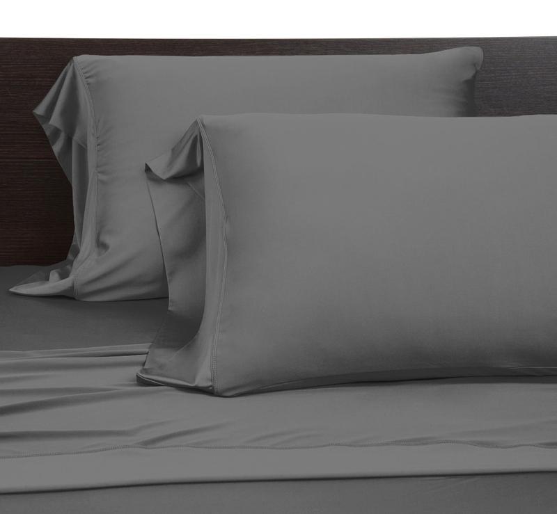 Pillow cases graphite full