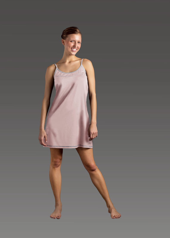 Sleepwear product w chemise pink front