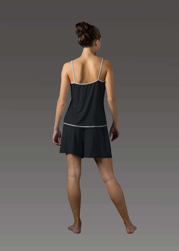 Sleepwear product w camitop black back