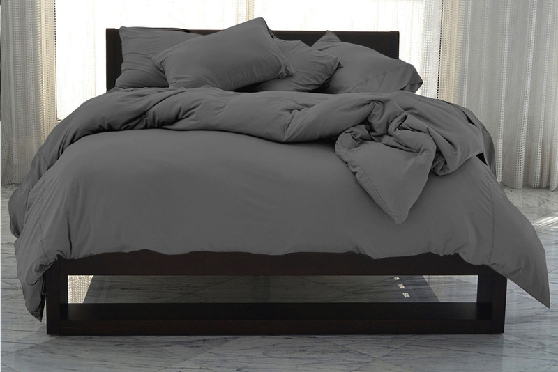 Op duvet cover graphite