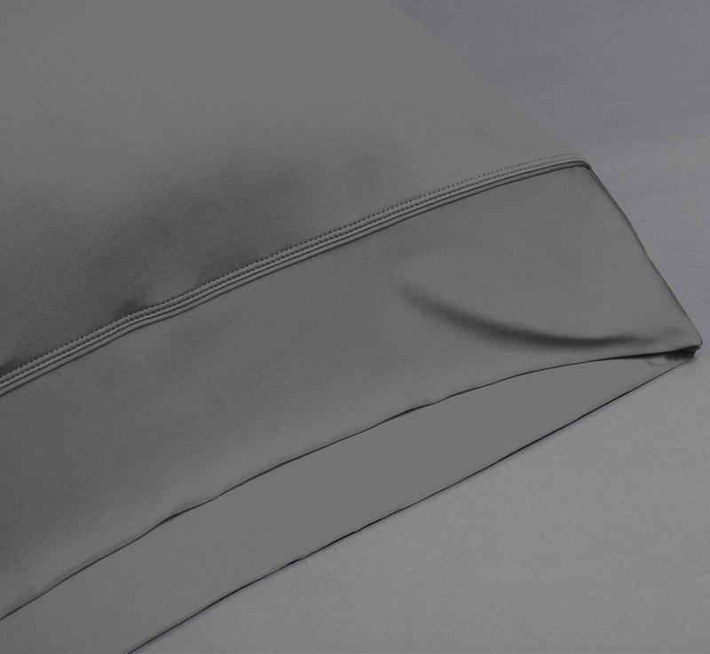 Sheets graphite pillowcase