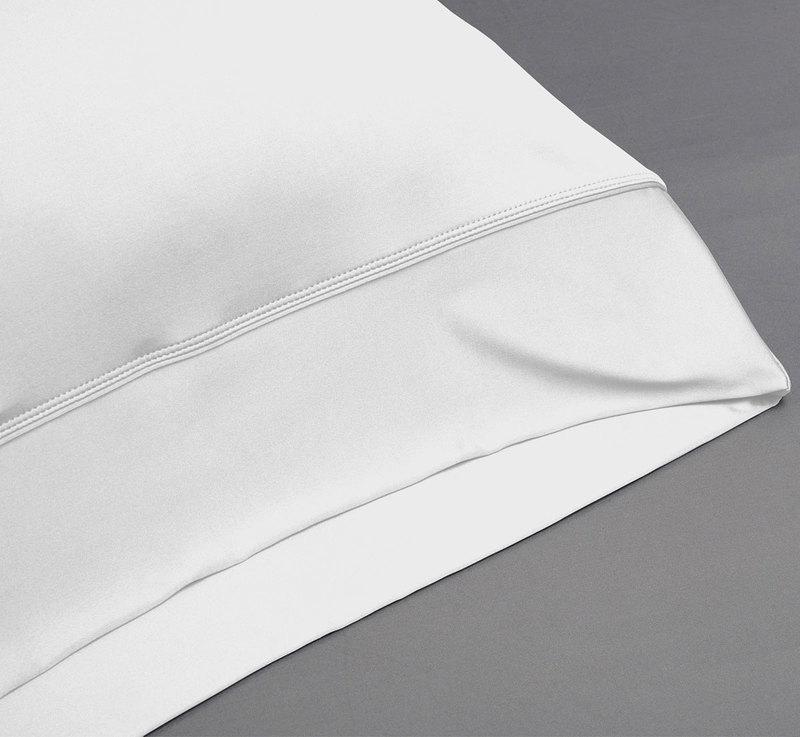 Sheets white pillowcase