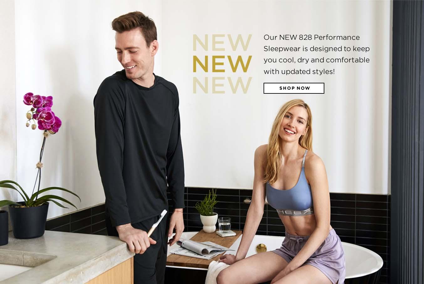 New! Performance Sleepwear